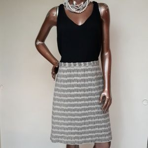 Loft Tank Style Pattern Skirt Dress